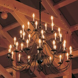36-Light Chandelier by Hub..