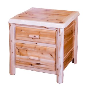 Deming 2 Drawer Nightstand