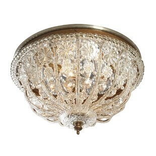 Astoria Grand Lamphere 3-Light Flush Mount