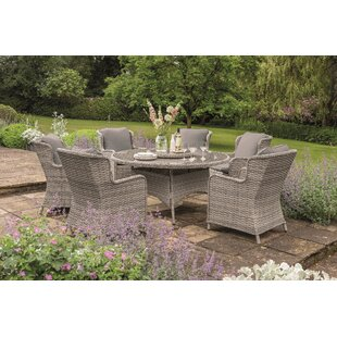 Manraj 6 Seater Dining Set By Sol 72 Outdoor
