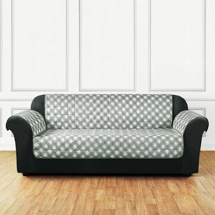 Shop for Furniture Flair Flash Box Cushion Sofa Slipcover by Sure Fit Reviews (2019) & Buyer's Guide