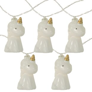 Unicorn Summer 54 ft. 10-Light Novelty String Light by The Party Aisle