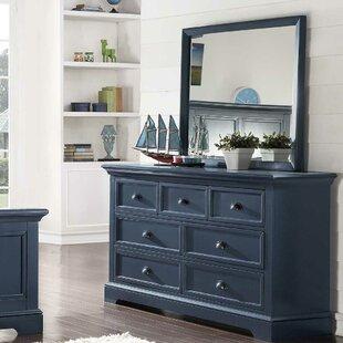 Greyleigh Appleby 7 Drawer Dresser with M..
