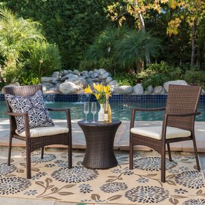 Ault 3 Piece Outdoor Chat Set