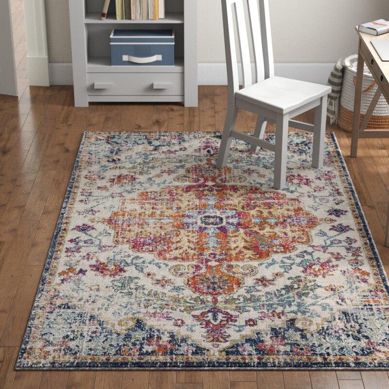 Hillsby Persian Inspired 100 Polypropylene Multicolor Area Rug Reviews Joss Main