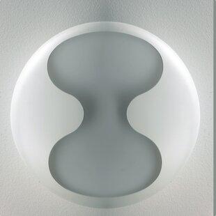 ZANEEN design Eight 2-Light Flush Mount
