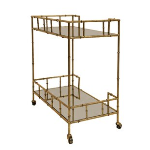 2-Tier Bar Cart by Sagebrook Home