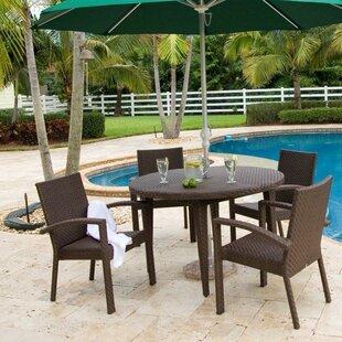 Hospitality Rattan Soho 5 Piece Dining Set
