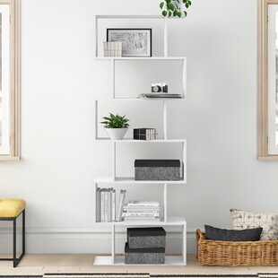 Check Price Caroline Cube Wooden Bookcase