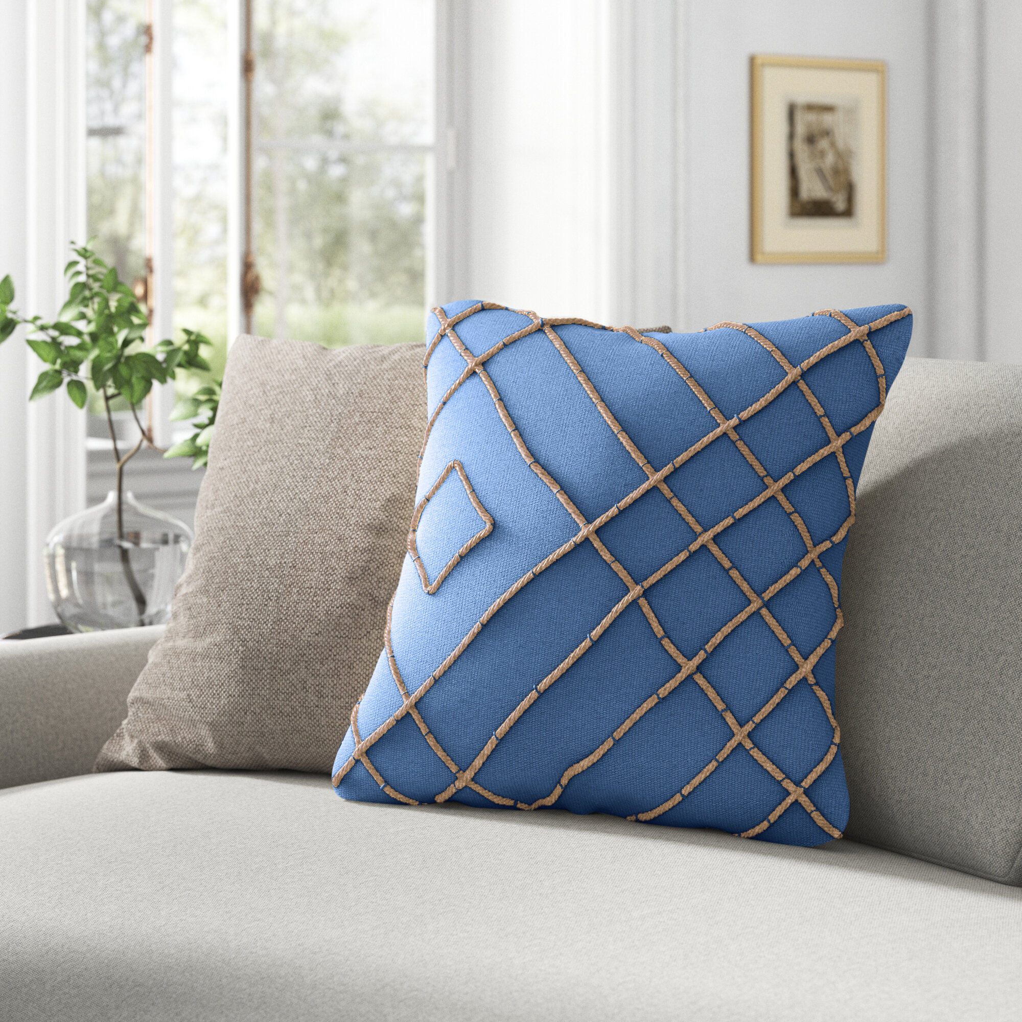 Geometric Kelly Clarkson Home Throw Pillows You Ll Love In 2021 Wayfair
