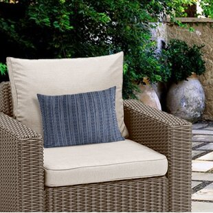 Adeline Geometric Outdoor Lumbar Pillow