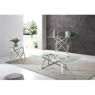 Encanto 3 Piece Coffee Table Set by Orren Ellis