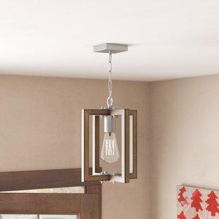 Daugherty 1-Light Square/Rectangle Pendant