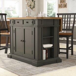 Collette Kitchen Island Set August Grove