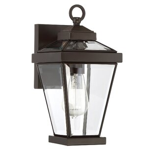 Low priced Lauren 1-Light Outdoor Wall Lantern By Gracie Oaks