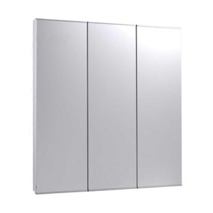 Compare prices Micheal 30 x 36 Recessed Medicine Cabinet By Ebern Designs