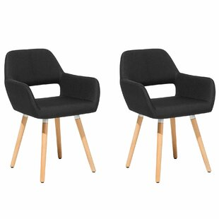 Hornbuckle Upholstered Dining Chair (Set of 2) by Ebern Designs