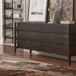Naturita 6 Drawer Double Dresser