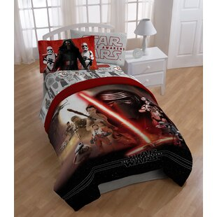 Star Wars Ep7 Montage Twin Polyester 3 Piece Sheet Set