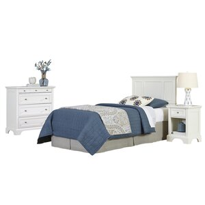 Lafferty Panel 3 Piece Bedroom Set