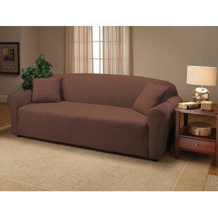 Shop Jersey Box Cushion Sofa Slipcover by Kashi Home