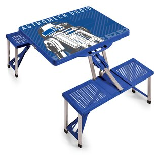 R2-D2 Folding Aluminum Camping Table by ONIVA™ Sale