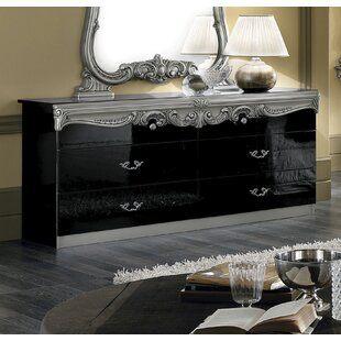 Alexzander 4 Drawer Double Dresser