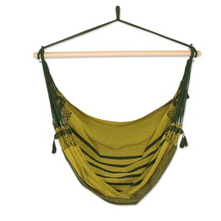Marietta Amazon Forest Cotton Swing Camping Hammock by Bloomsbury Market Amazing