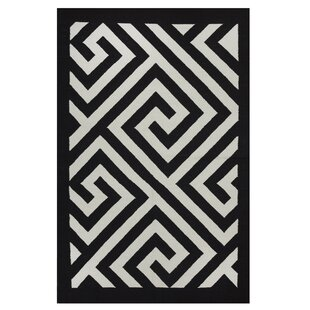 Affordable Metro Broadway Black/White Rug ByFab Habitat