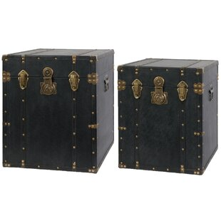 A&B Home 2 Piece Trunk Set