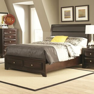 Wasserhund Upholstered Storage Panel Bed