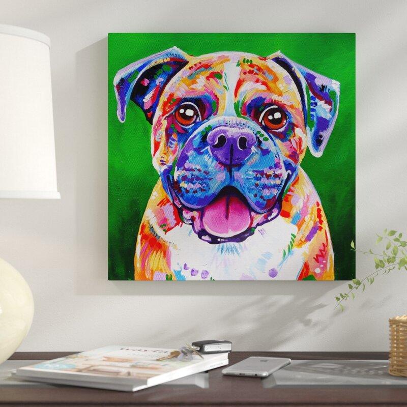 'Boxer Dog' Print