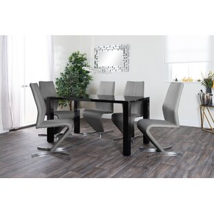Neriah Dining Set With 6 Chairs By Metro Lane