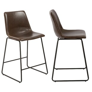 Erastus 24.2 Bar Stool (Set of 2) Williston Forge