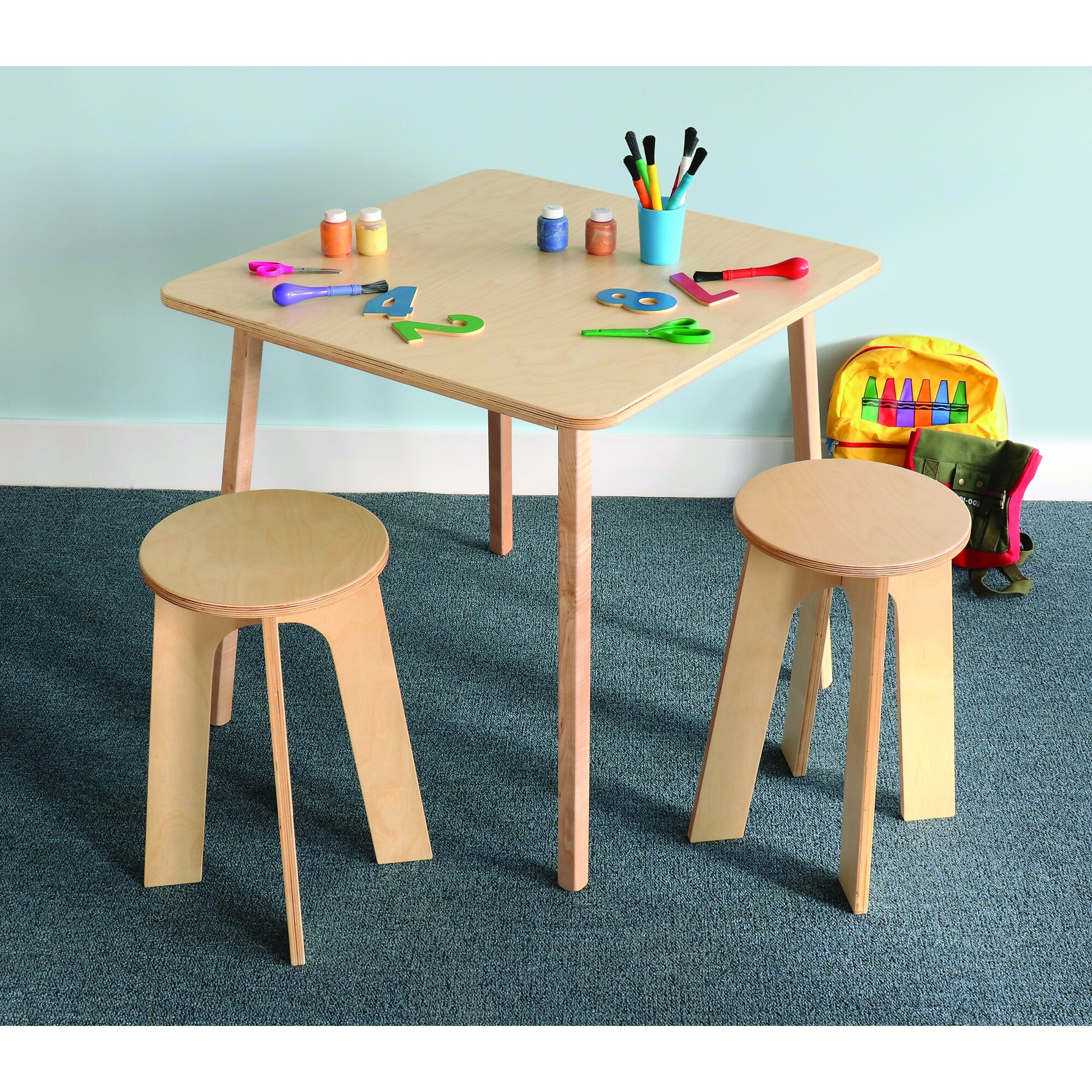 Enjoyable Stand Up Kids 3 Piece Writing Table And Chair Set Uwap Interior Chair Design Uwaporg