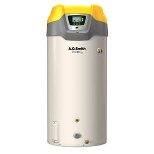 A.O. Smith Commercial Tank Type Water Heater Nat Gas 100 Gal Cyclone Xi 199,000 BTU Input High Efficiency