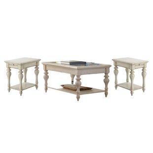 Birch Lane? Heritage Perkins 3 Piece Coffee Table Set