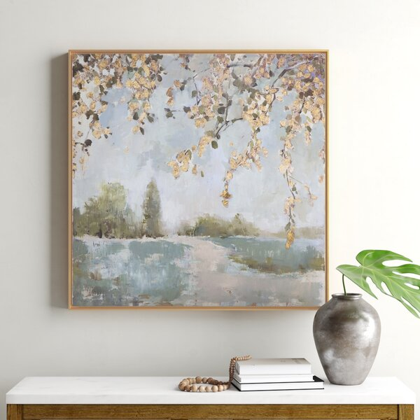 Peaceful Landscape Art Wayfair
