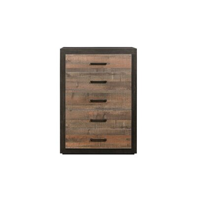 Slade 5 Drawer Standard Chest Union Rustic