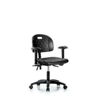 Symple Stuff Loren Desk HeightErgonomic Office Chair
