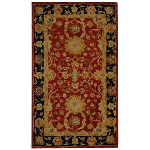 Anatolia Red/Navy Area Rug