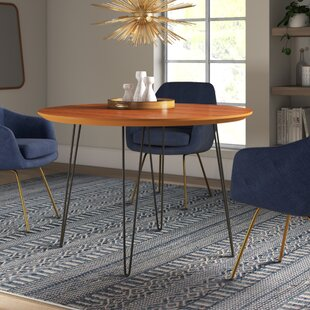 Chrisman Hairpin Dining Table by Wrought Studio Discount