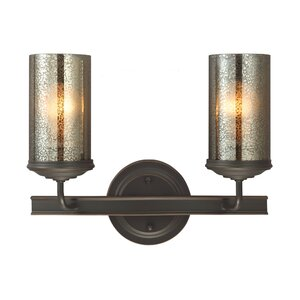 Doris Traditional 2-Light Vanity Light