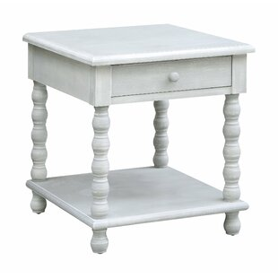 Hartshorn End Table with Storage by Highland Dunes