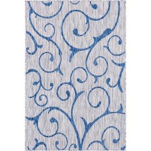 Coyer Blue/Gray Indoor/Outdoor Area Rug