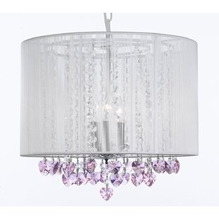 Rosdorf Park Dacia 3-Light Chandelier