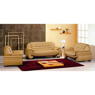 Westminster 3 Piece Living Room Set by Hokku Designs