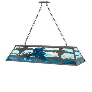 Meyda Tiffany Sailfish 9-Light Pendant