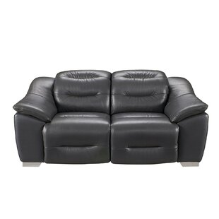 Kiro Reclining 2 Piece Leather Living Room Set By Orren Ellis
