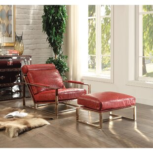 A&J Homes Studio Quinto Lounge Chair and Ottoman